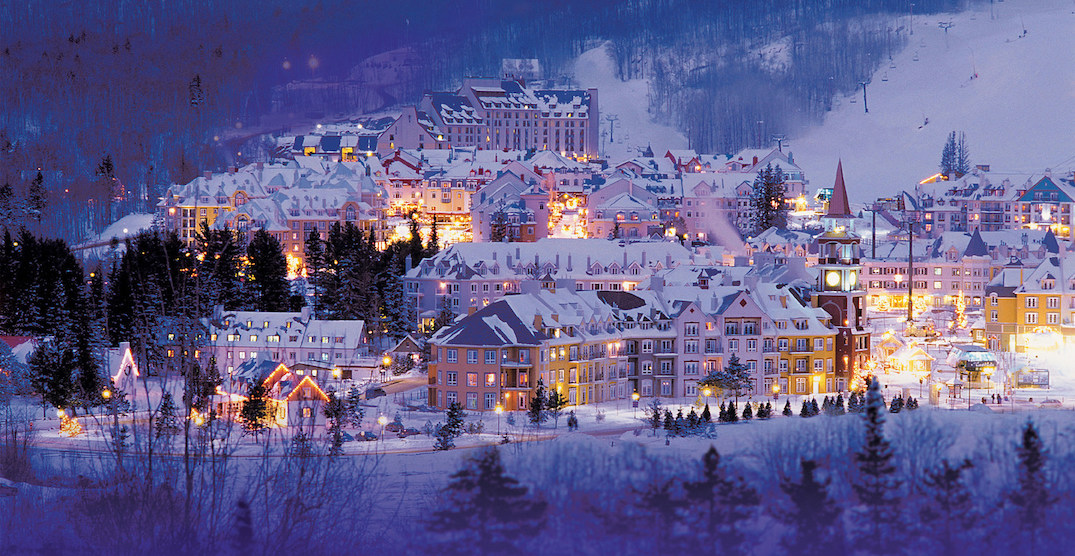 You can get from downtown Toronto to Mont Tremblant in just over an hour this winter