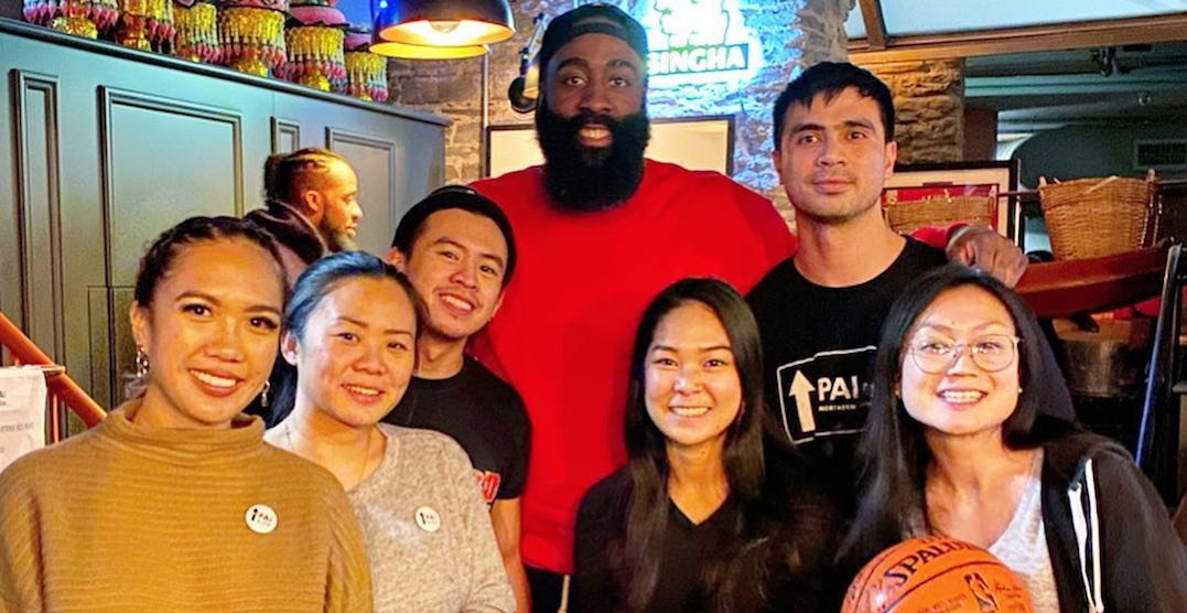 James Harden visited popular downtown Thai restaurant last night