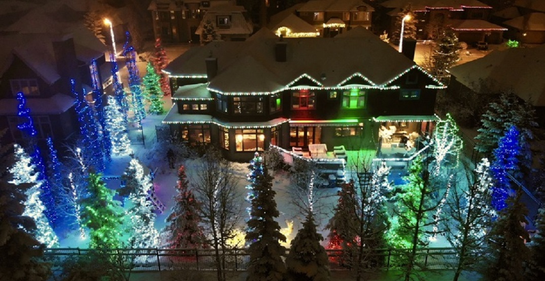 Find the best residential light displays in Calgary with this interactive map