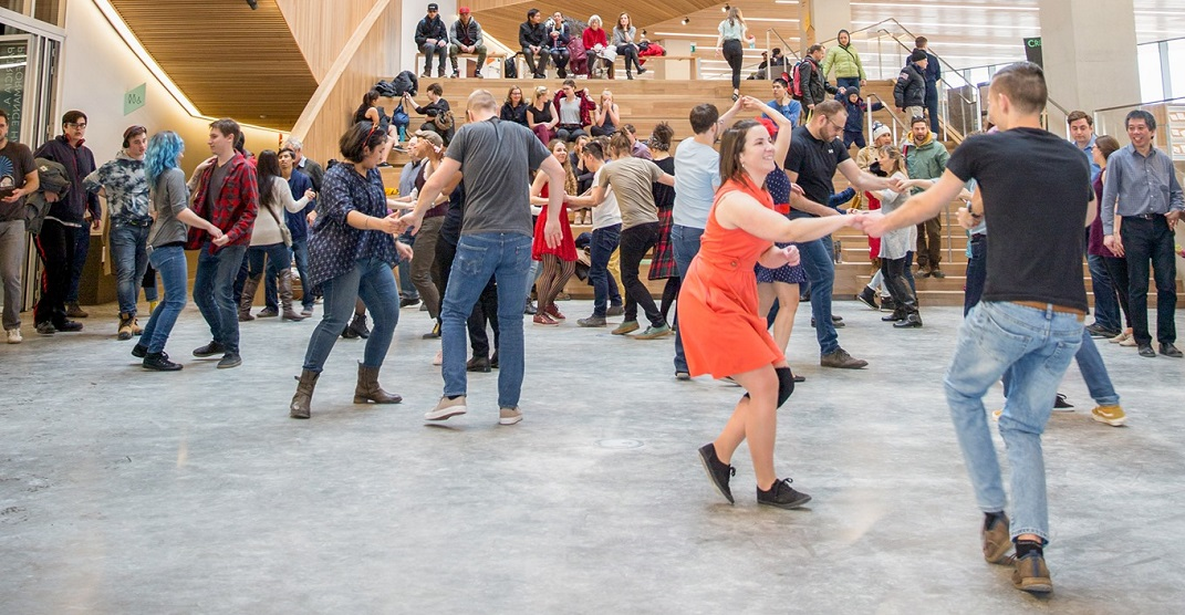 Take a free swing dance class at the Central Library this weekend