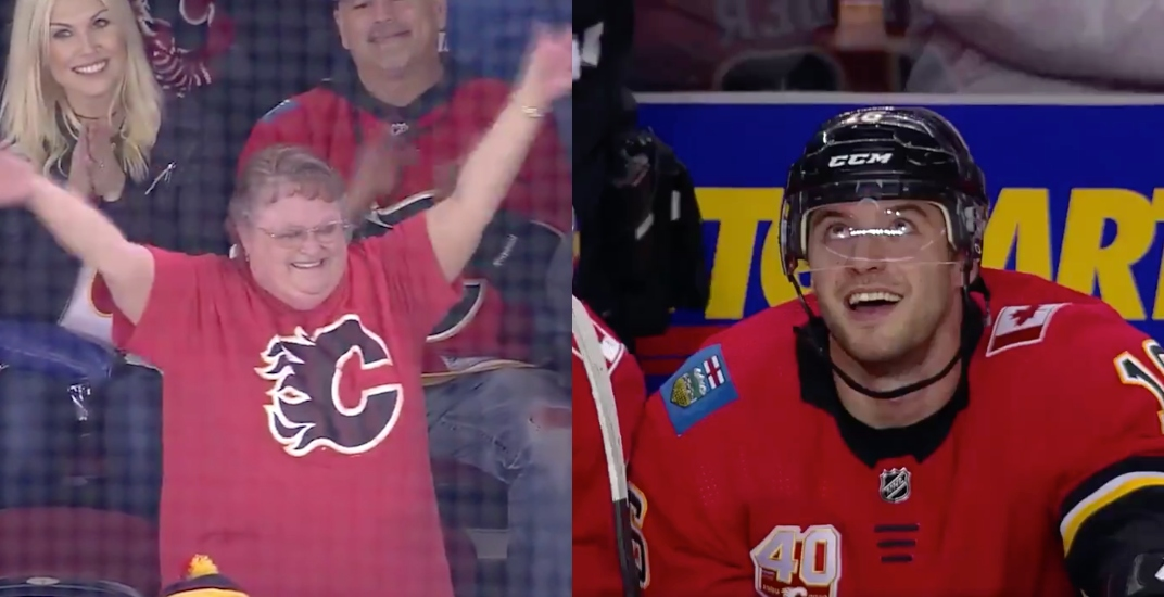 Tobias Rieder goal wins a new car for lucky Flames fan (VIDEO)