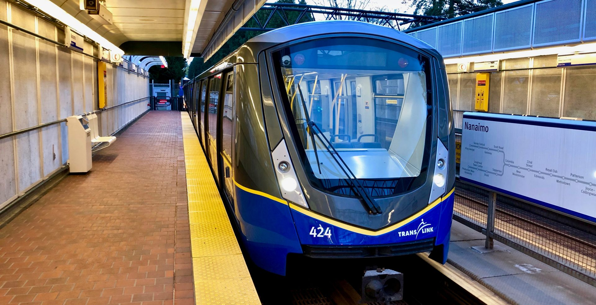 "Man arrested after allegedly ""slashing"" SkyTrain passenger with boxcutter"