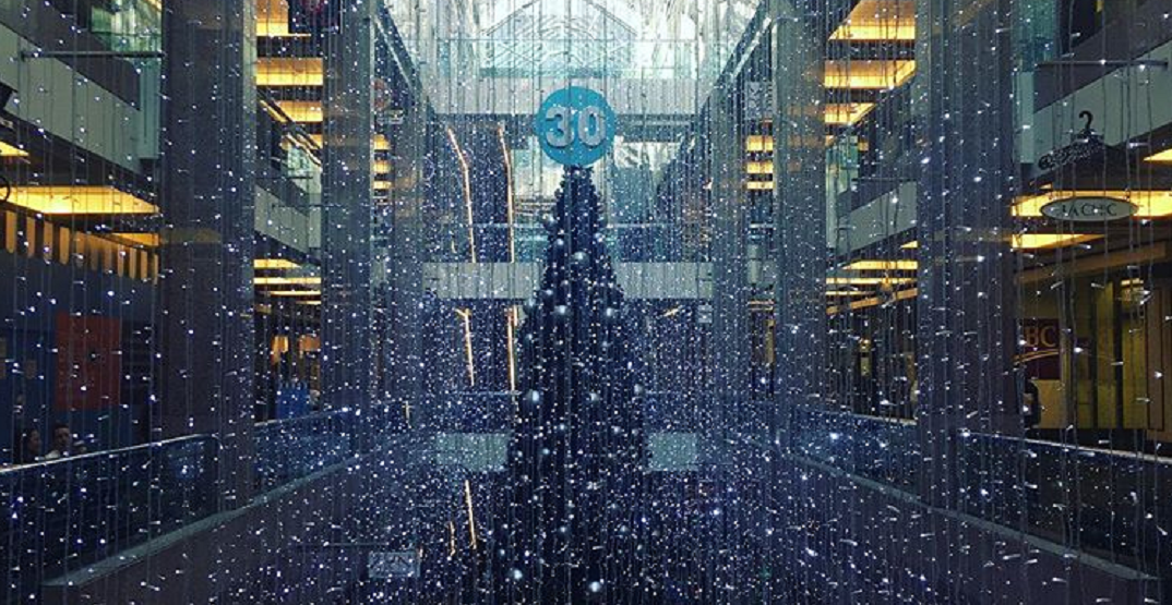There's a seriously stunning light display at Bankers Hall (PHOTOS)