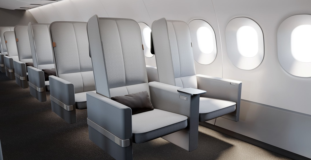 This new airplane seat could make it easier to sleep in economy