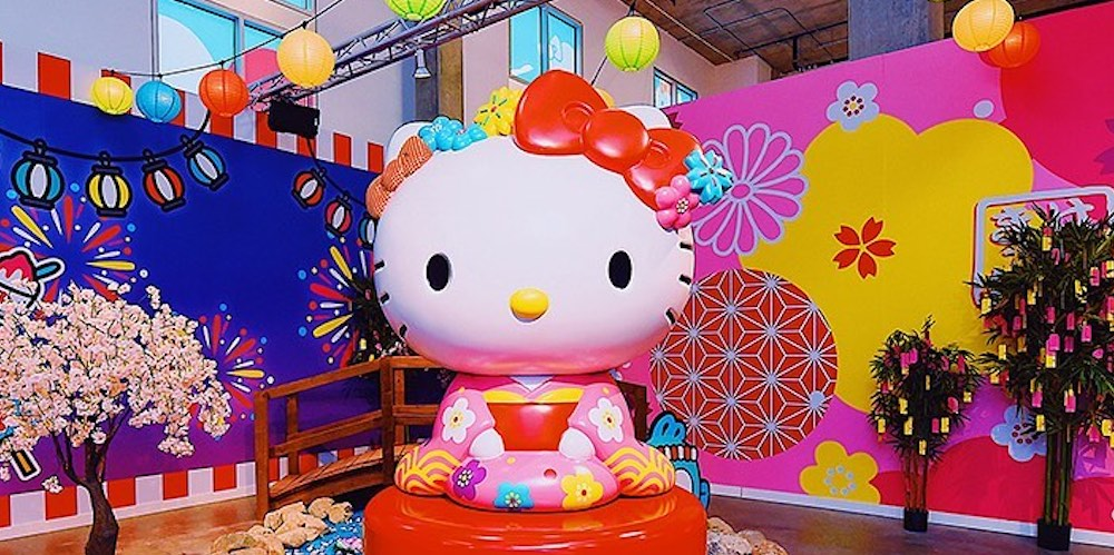 Just landed: A Hello Kitty pop up has touched down in Seattle