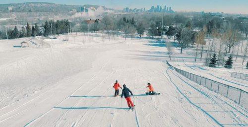 ski hill Montreal