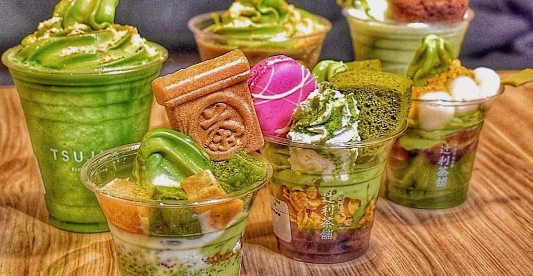 Super popular Japanese cafe Tsujiri is now open in Calgary