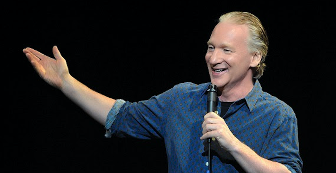 Comedian and late-night host Bill Maher announces show in Vancouver next spring