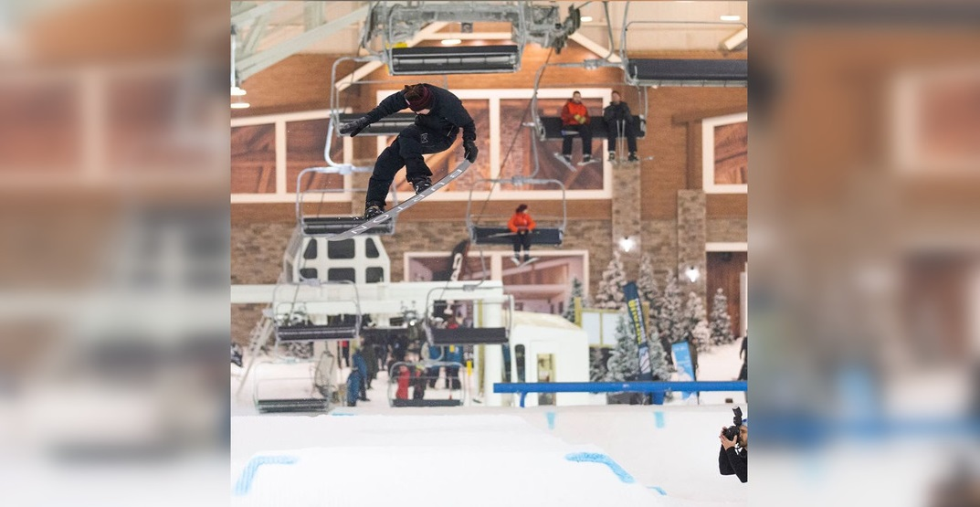 You can now ski year-round at this New Jersey-based indoor slope