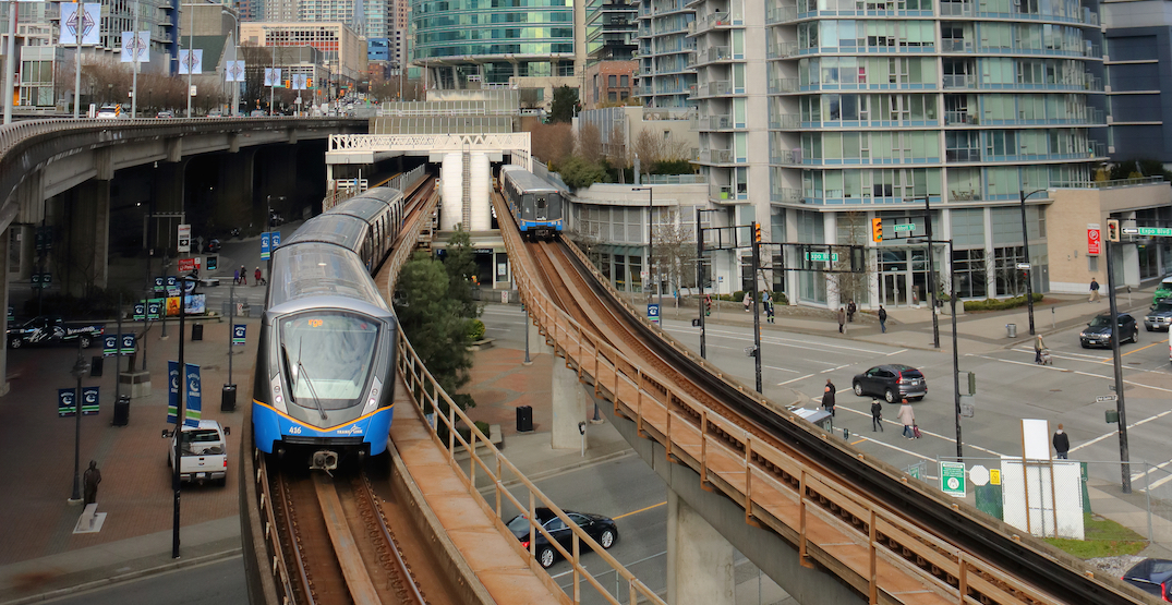 Medical emergency shuts down part of SkyTrain Expo Line