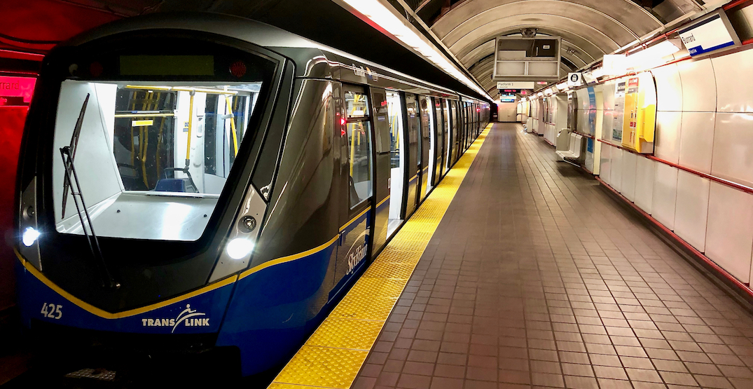 SkyTrain delays this morning while service is being ramped up to normal