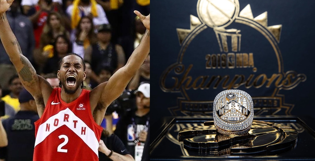 The Raptors are holding a championship ring presentation for Kawhi Leonard tomorrow