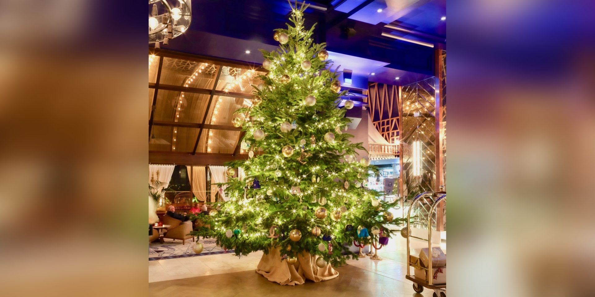 This hotel in Spain may have the world's most expensive Christmas Tree