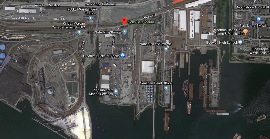 North Vancouver District rejects industrial subdivision of 27-acre waterfront property