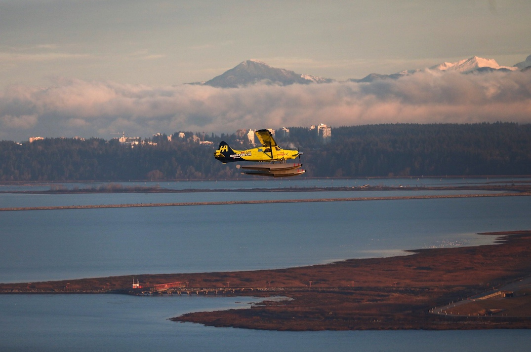 Harbour Air electric aircraft