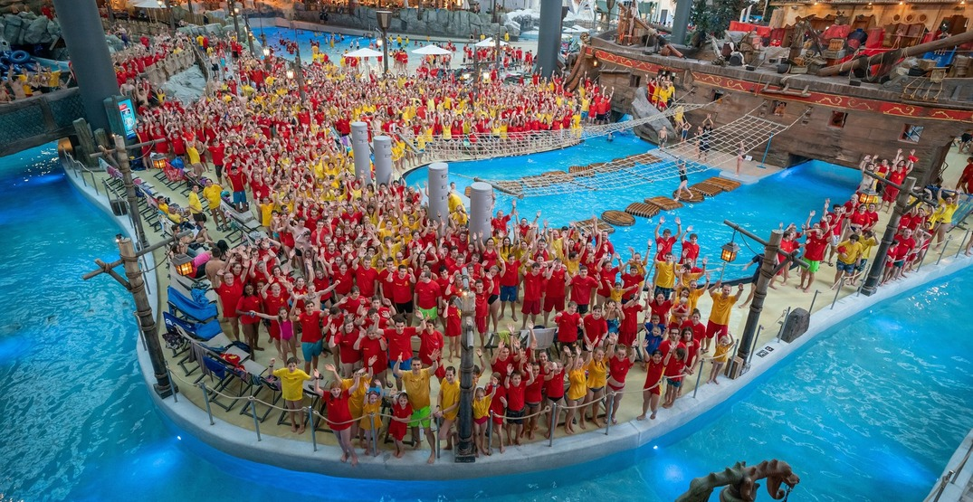 This giant Nordic-themed water park has Mermaids and swim-up bar