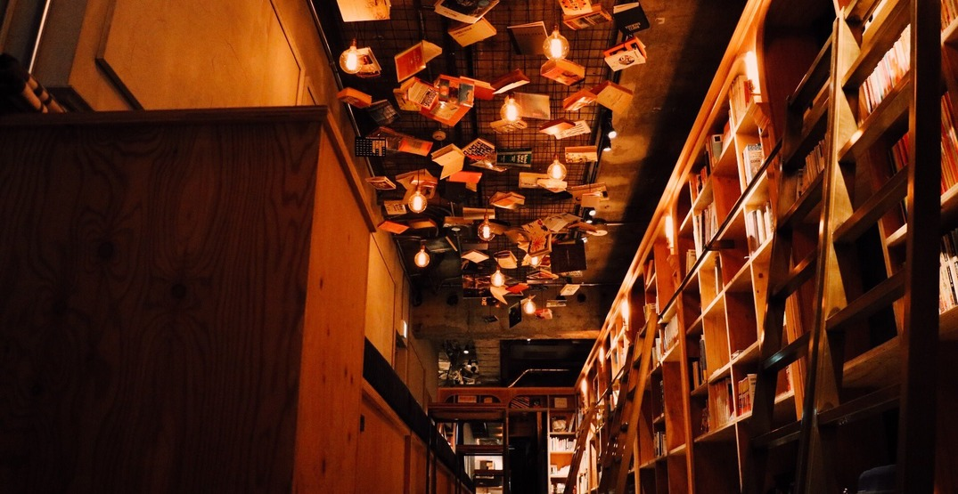 You can sleep inside a bookshelf at this hostel in Tokyo
