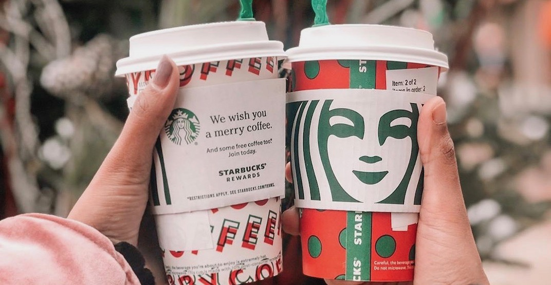 Starbucks is offering buy-one-get-one FREE drinks across Canada tomorrow
