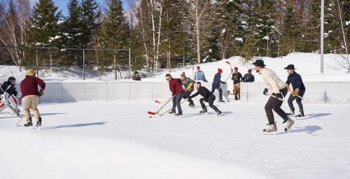 outdoor hockey
