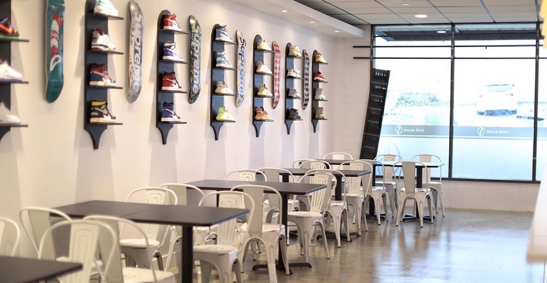 A new sneakerhead cafe just opened in Metro Vancouver (PHOTOS)