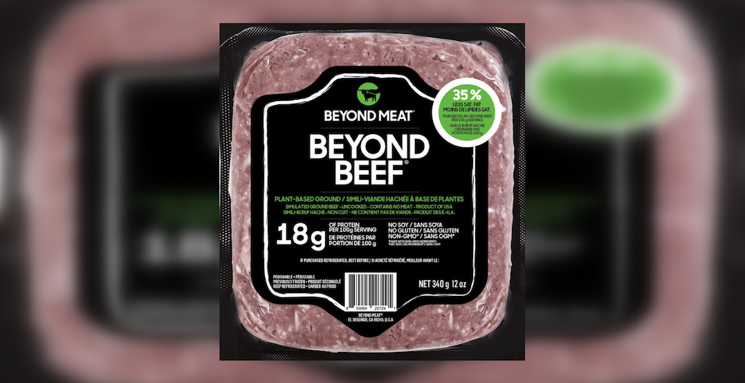 Beyond Beef now available at grocery stores across Canada