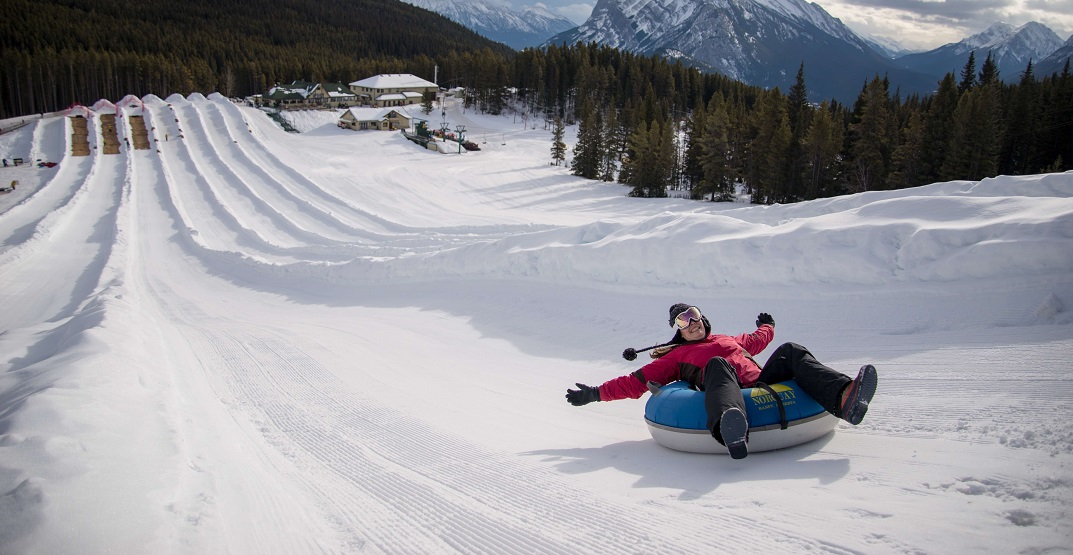 Tube park at Mount Norquay will open for the season December 12
