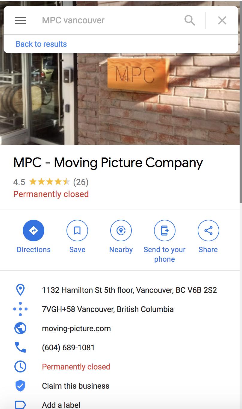 MPC Vancouver