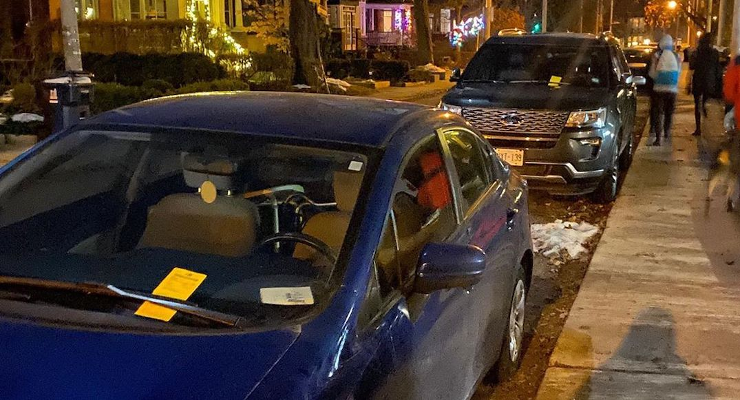 Someone's putting fake parking tickets on vehicles in Toronto (PHOTOS)