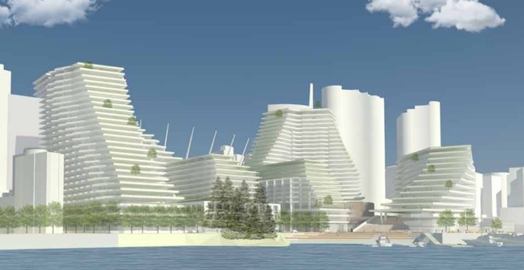 Plaza of Nations redevelopment at False Creek will be built in three phases