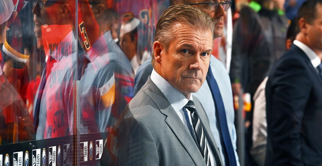 Flames announce they're keeping Geoff Ward as head coach