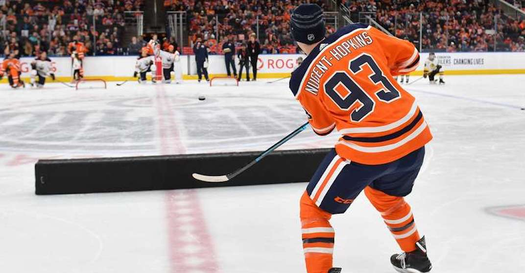 There's an Oilers skills competition at Rogers Place this month