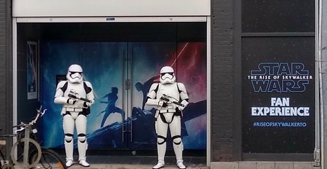 There's a Star Wars fan experience happening in Toronto