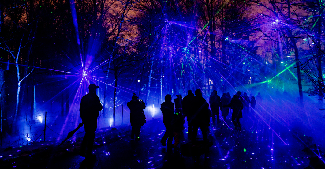 This is what the Toronto Zoo's new interactive light experience looks like (PHOTOS)
