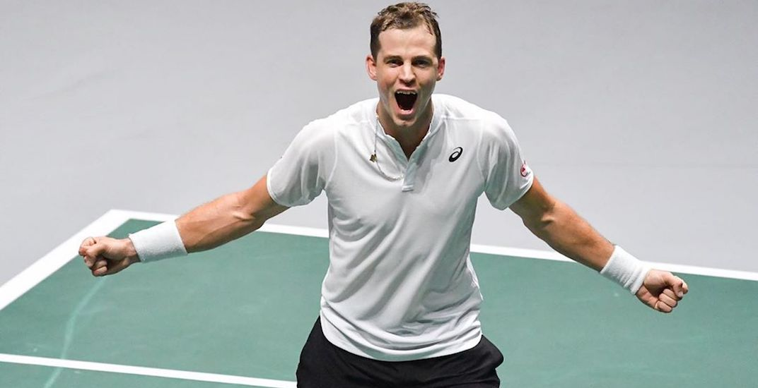 Canadian tennis pro Vasek Popisil to play in Calgary-hosted tournament