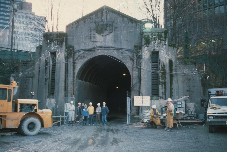 skytrain dunsmuir tunnel