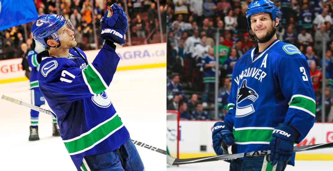Kesler and Bieksa share old Canucks stories in debut 'Kes and Juice Podcast'