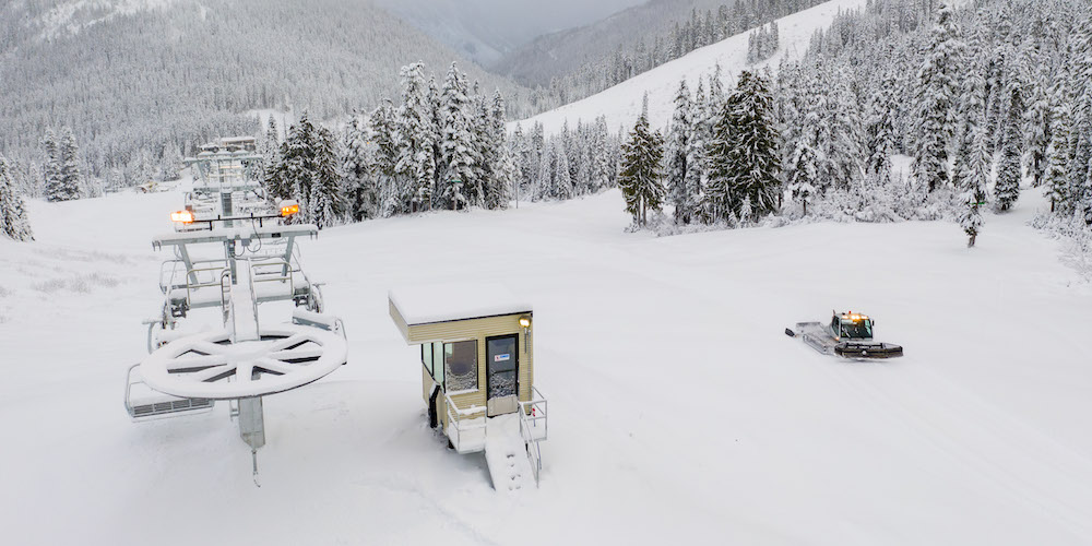 Just announced: Stevens Pass will be opening for the season next week
