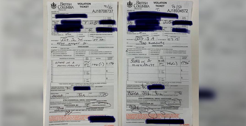 Vancouver speeder caught twice in 13 minutes