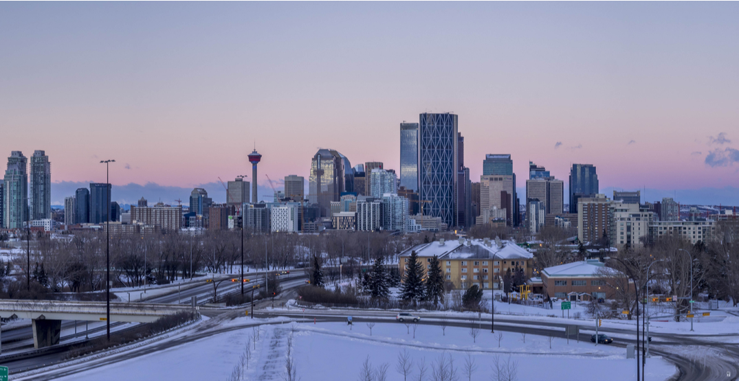 Below freezing temperatures, snowfall expected for Calgary this weekend