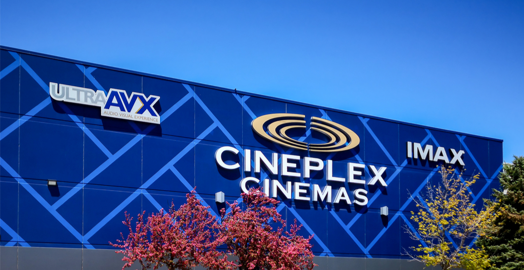 Here's what Cineplex theatres are going to look like when they reopen