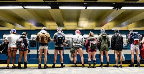 No pants metro