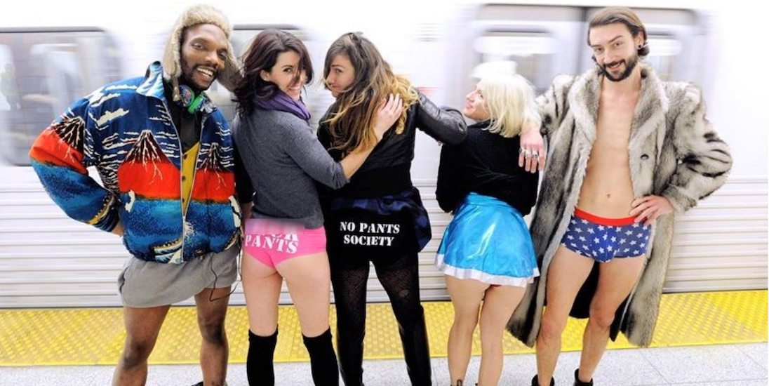 The No Pants Subway Ride returns to Toronto next month