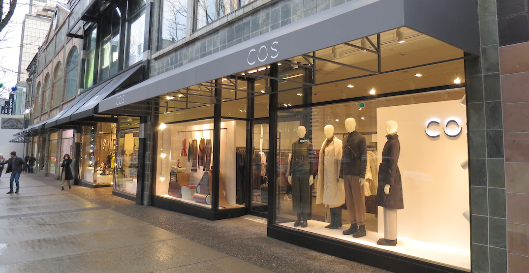 H&M's COS opens 2-storey flagship store on Vancouver's Robson Street (PHOTOS)