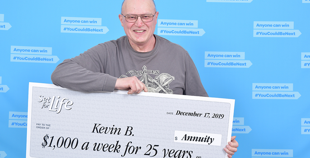 """No more graveyard shifts"" for Coquitlam man who wins Set for Life lottery"