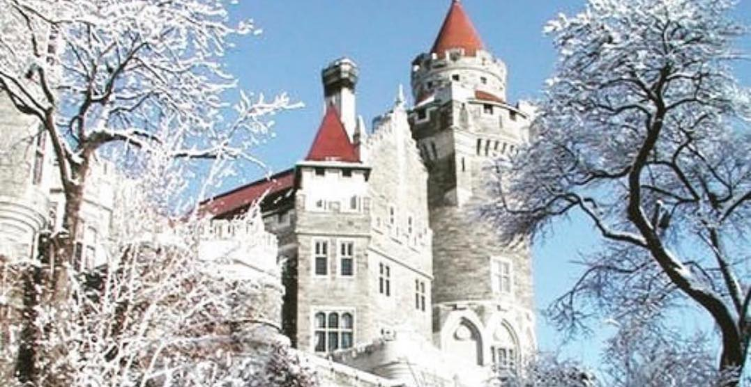 Casa Loma is hosting a glamorous high tea service this winter