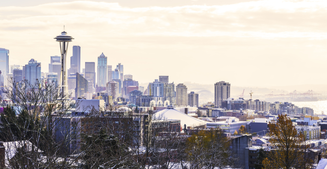 There's a chance that you'll be waking up to a white Christmas in Seattle next week