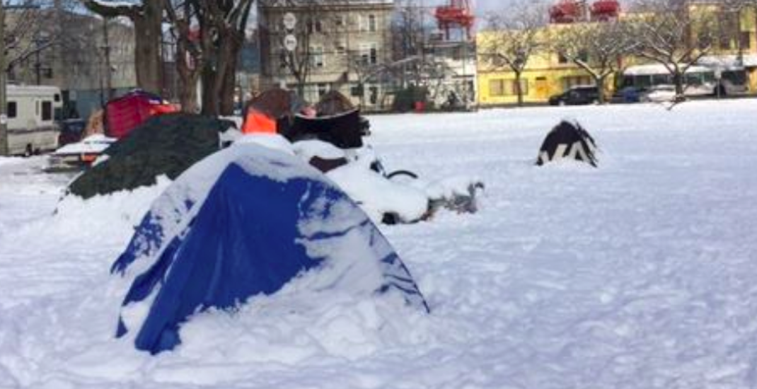 City increases warming centre capacity for Oppenheimer Park campers