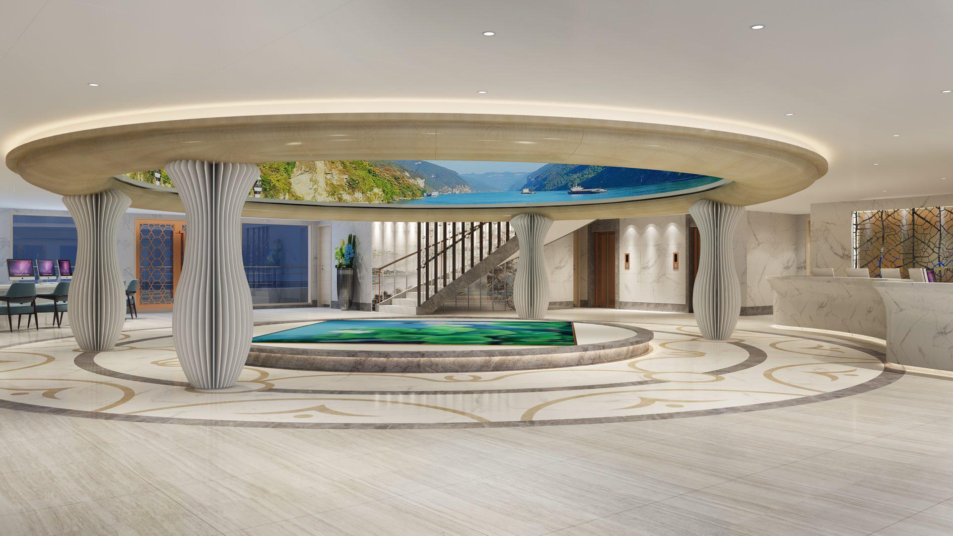 victoria-sabrina-lobby-river-cruise