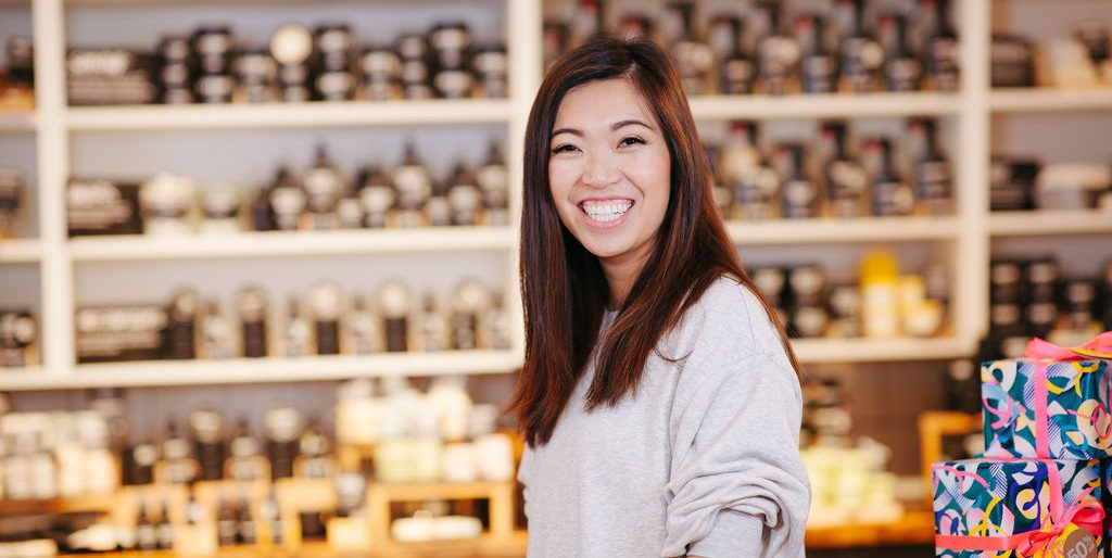 Meet the LUSH employee whose career has taken her all over the world