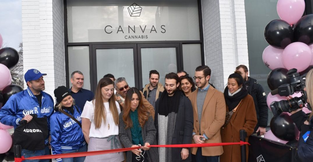 Canvas just became Toronto's only licensed east end cannabis retail store